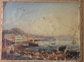 Painting Before Restoration